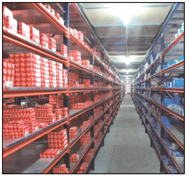 Pallet Rack: Interlake Wide Span Shelving