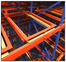 Spacerak Pallet Rack Push Back Systems