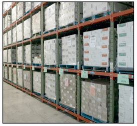 Pallet Rack: Speedrack Structural Rack Systems
