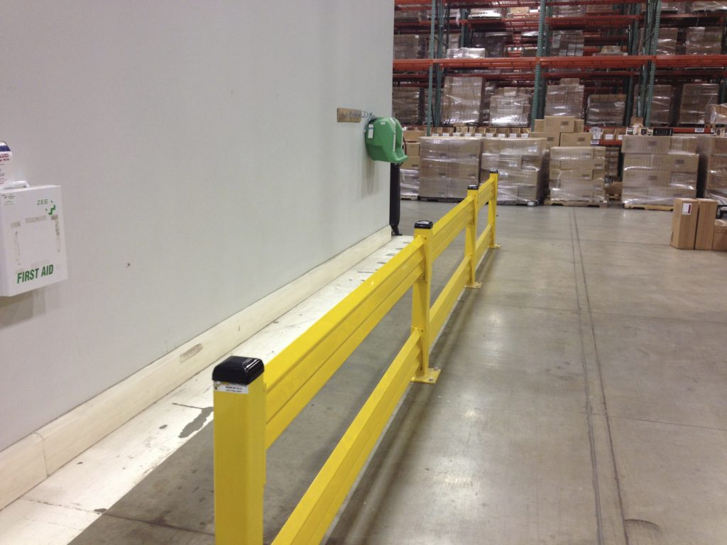 warehouse guardrail