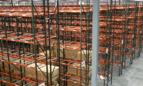 warehouse safety pallet racking