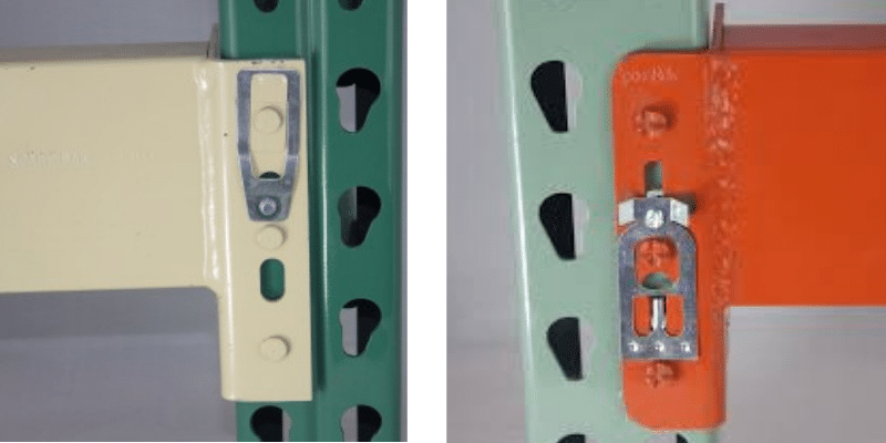 spacerak pallet rack clips