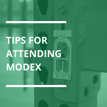 featured image for tips for attending MODEX blog post